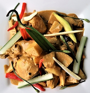 Photography recipe Malay Chicken Curry