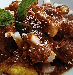 Photography recipe Rojak pasembur