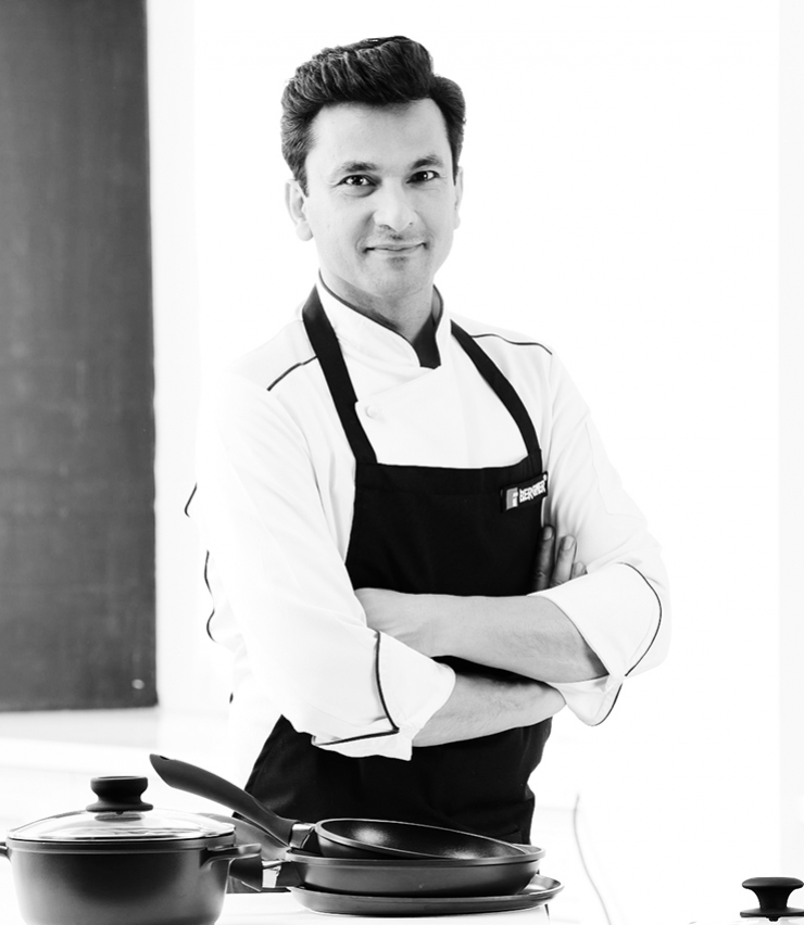 Fotografía de Vikas Khanna embajador Cook & Chef Institute